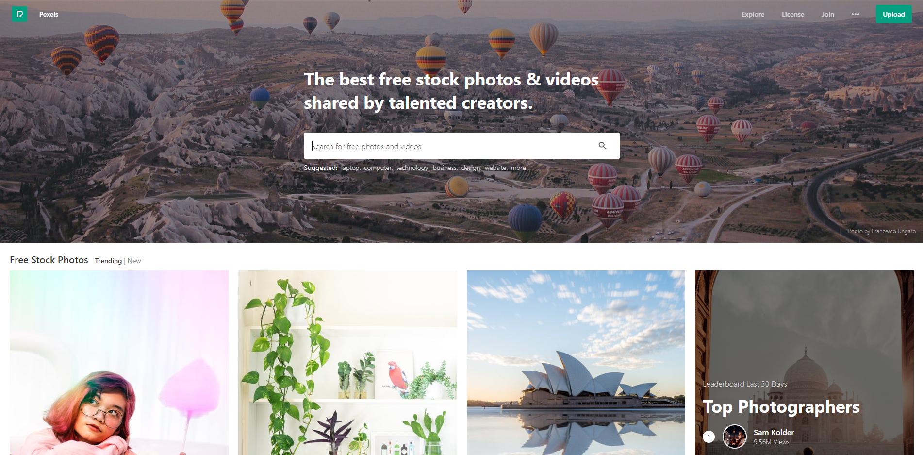 Pexels-Screenshot